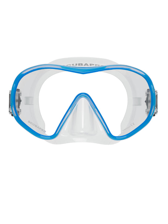 Scubapro Solo Mask - Clear/Blue
