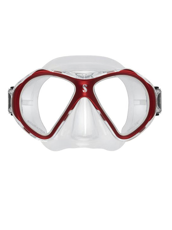 Scubapro Spectra 2 Mini Mask - Red/Clear