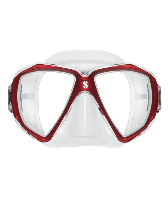 Scubapro Spectra Mask - Clear/Red