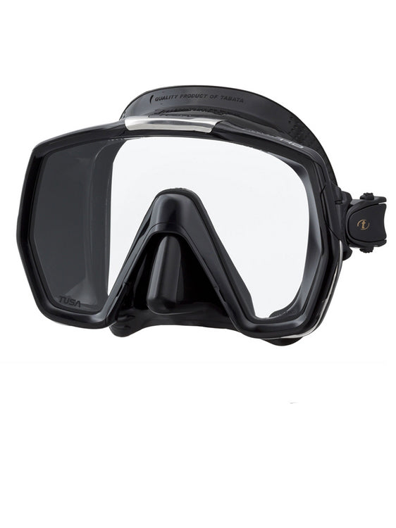 TUSA Freedom HD Mask (M-1001) - Black/Black (BK/BK)