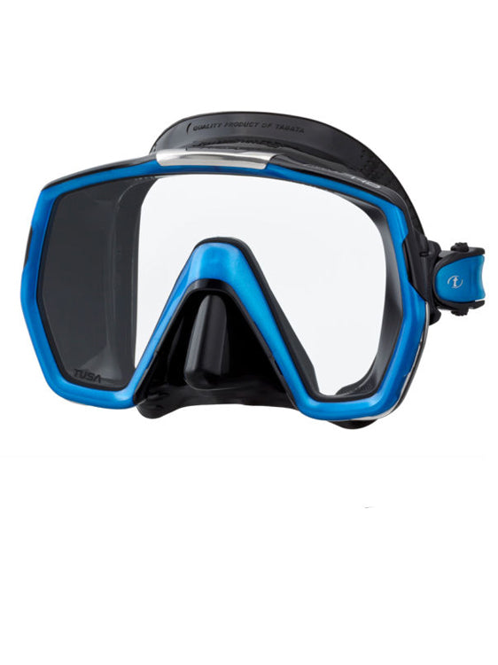 TUSA Freedom HD Mask (M-1001) - Black/Fishtail Blue (BK/FB)