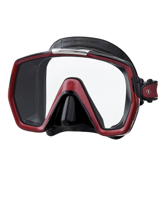 TUSA Freedom HD Mask (M-1001) - Black/Metallic Red (BK/MDR)
