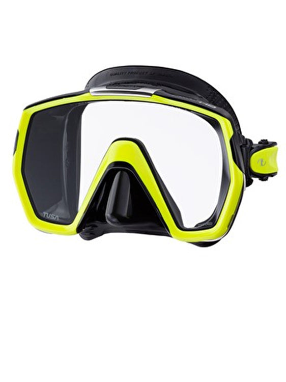 TUSA Freedom HD Mask (M-1001) - Black/Fluoro Yellow (BK/FY)