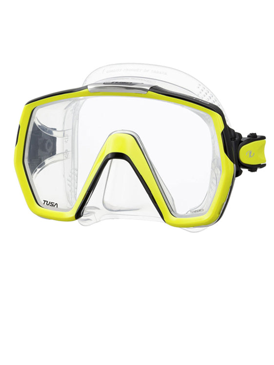 TUSA Freedom HD Mask (M-1001) - Fluoro Yellow (FY)