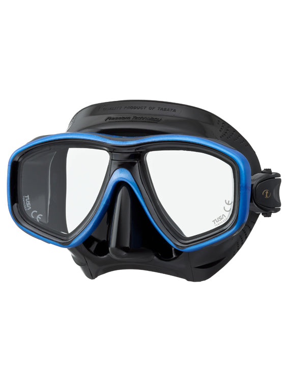 Tusa Freedom Ceos Mask (M-212) - Black/Fishtail Blue (BK/FB)