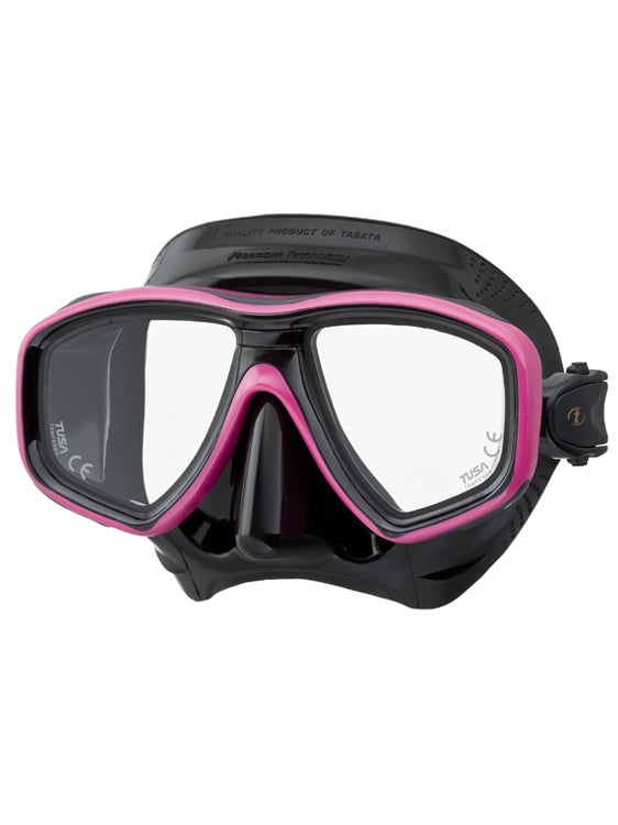 Tusa Freedom Ceos Mask (M-212) - Black/Hot Pink (BK/HP)