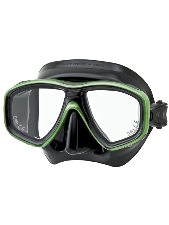 Tusa Freedom Ceos Mask (M-212) - Black/Siesta Green (BK/SG)