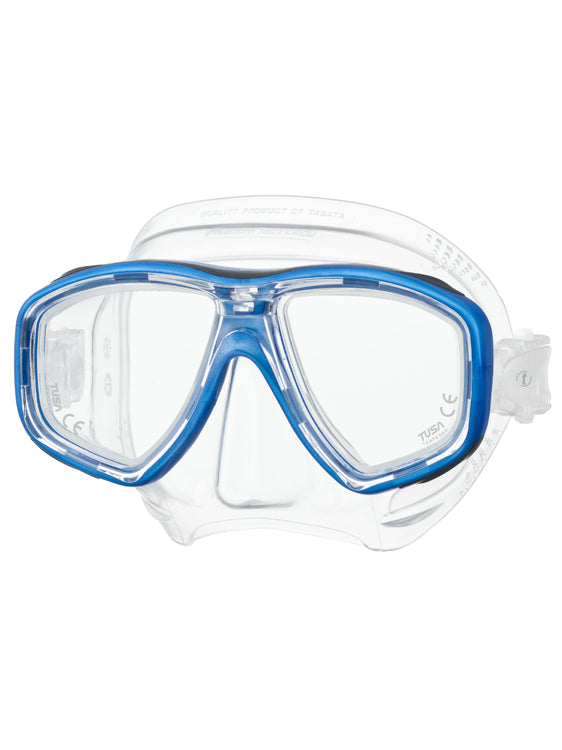 Tusa Freedom Ceos Mask (M-212) - Fishtail Blue (FB)
