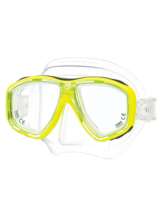 Tusa Freedom Ceos Mask (M-212) - Fluoro Yellow (FY)