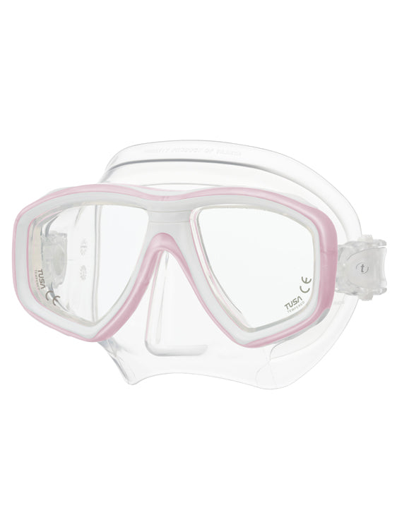 Tusa Freedom Ceos Mask (M-212) Pale Pink/White (PPW)