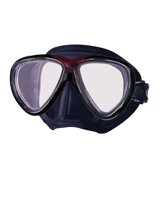 Tusa Freedom One Pro Mask (M-211S) - Black/Metallic Red (MDR)