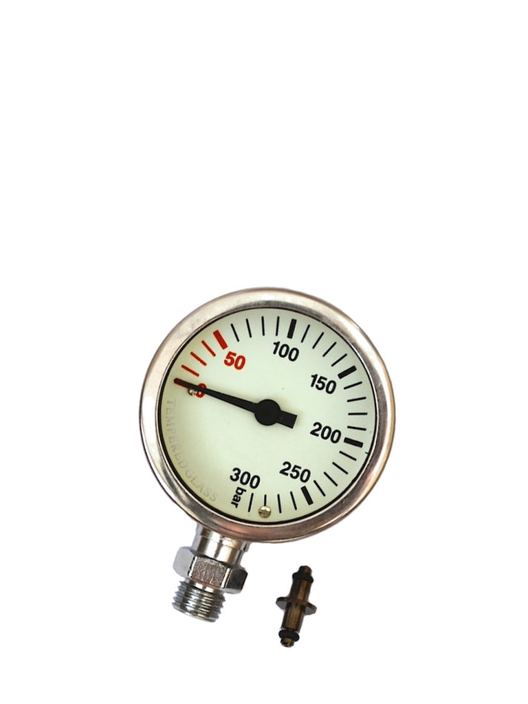 Naked Termo Gauge (Brass & Glass)