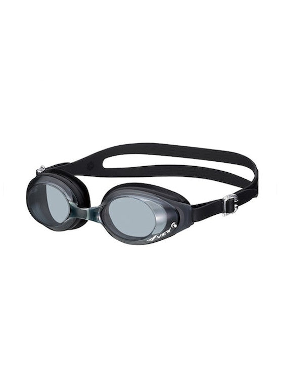 View Swim Swipe Anti-Fog Swimming Goggles BK