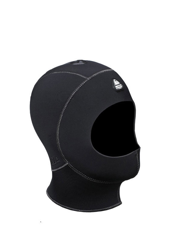 Waterproof H1 5/7mm Vented Anatomical Hood - Short