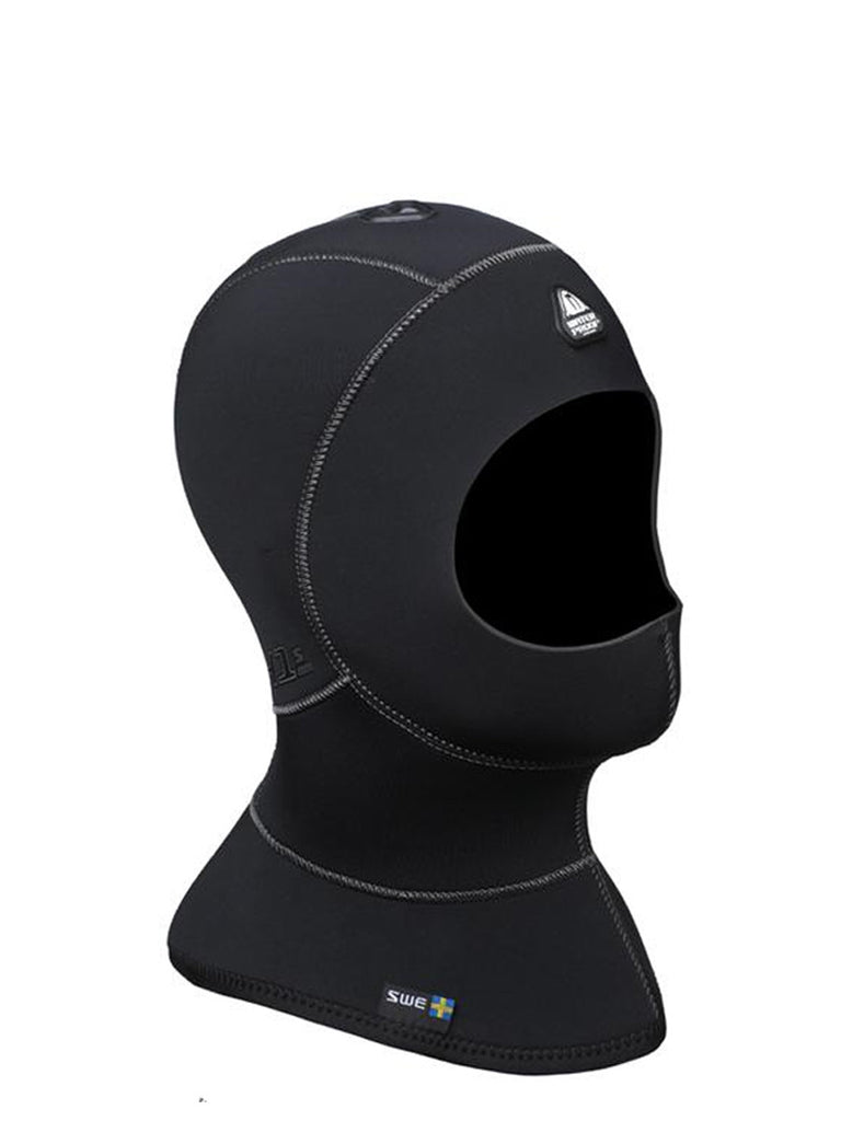 Waterproof H1 5/7mm Vented Anatomical Hood - Long