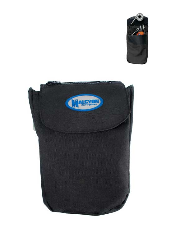 Halcyon Bellow Pocket with Velcro Closure