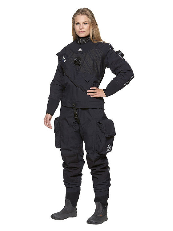 Waterproof D9X Breathable Drysuit - Ladies / Womens