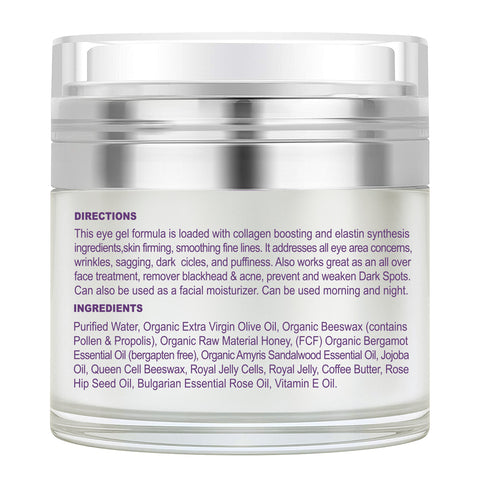 SWAN ☆ STAR Anti Aging Eye Gel Eye Cream Moisturizer Serum With Hyaluronic Acid