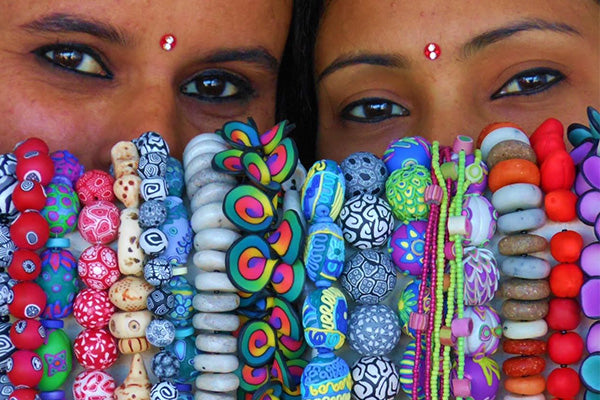 Polymer clay jewellery by Samunnat Nepal