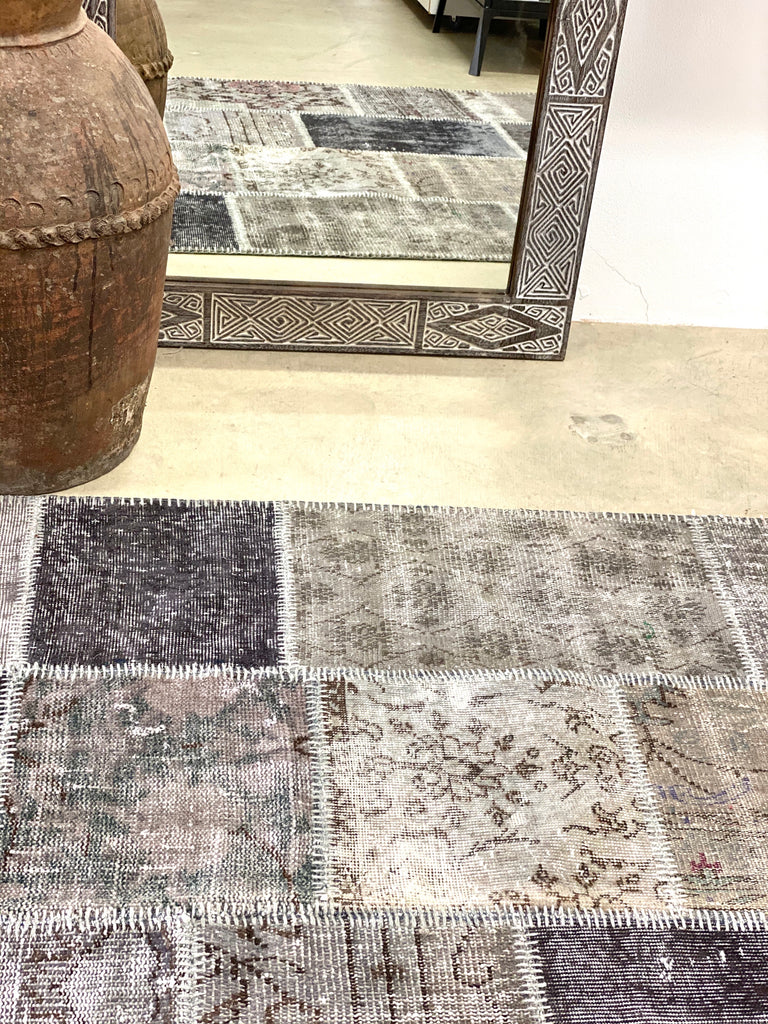 """Over-dye"" Turkish rug"