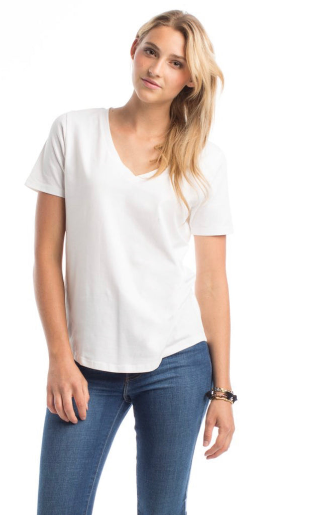 "Synergy ""perfect v neck"" tee"