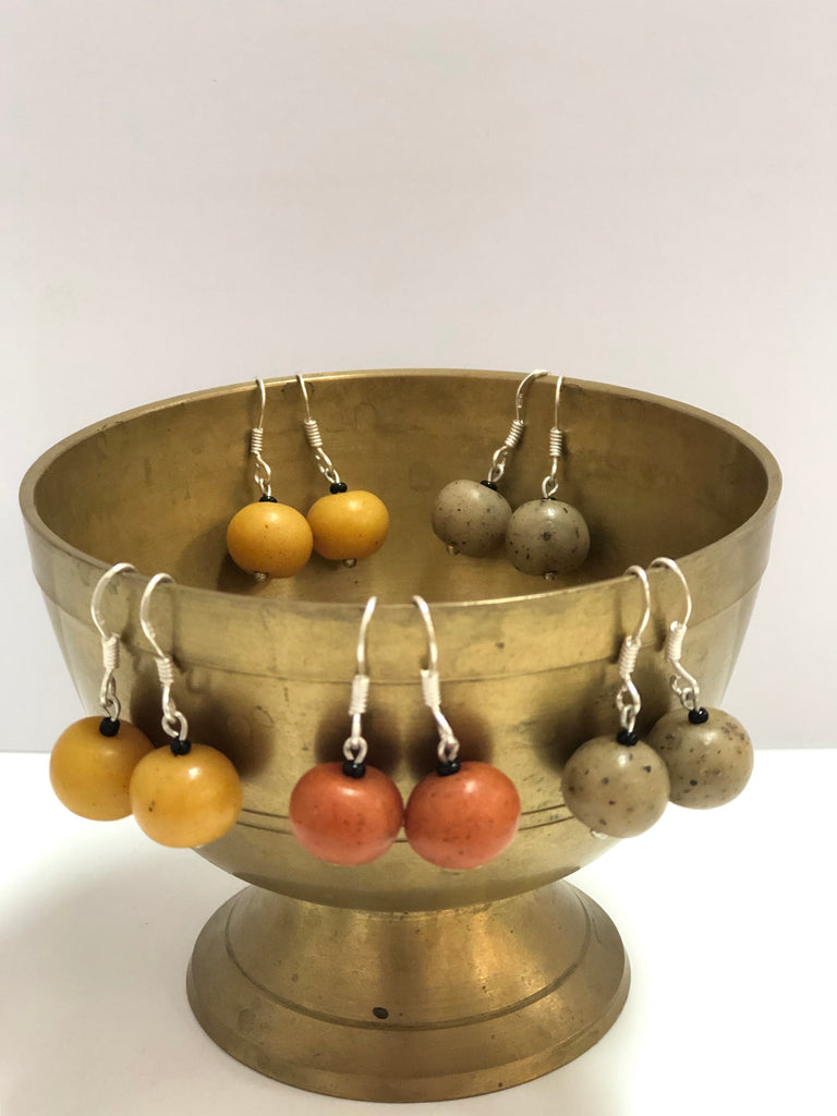 """Samunnat"" spice earrings"