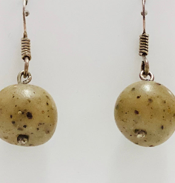 "Samunnat ""round bead"" earrings"