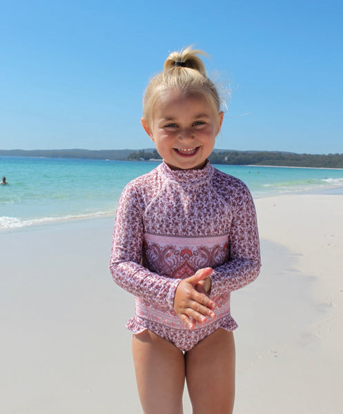 "Hyams Beach Swimwear ""boho pink mini"""