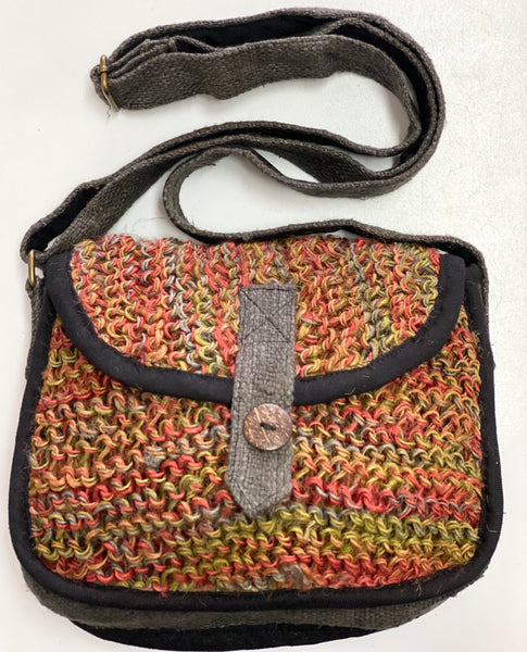"Hemp ""Tsering"" bag"