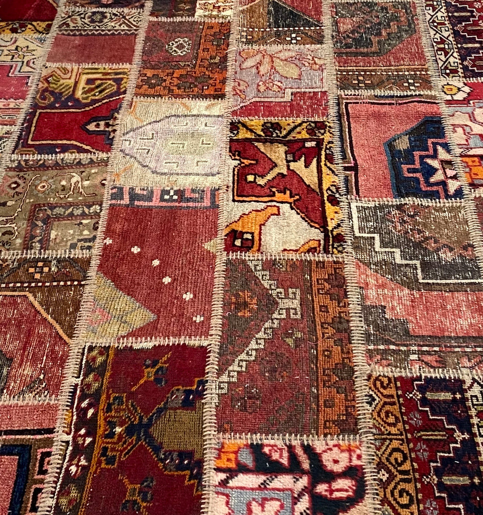 "Vintage ""Map of Turkey"" rugs"