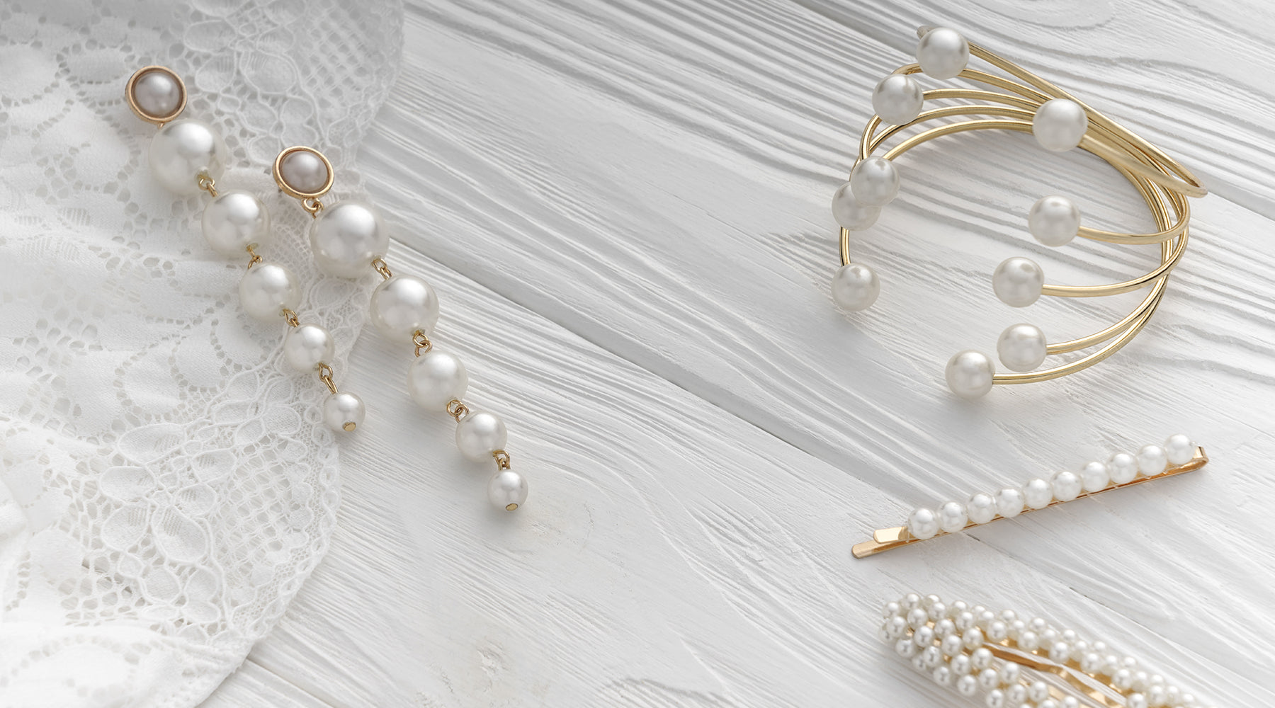 Pearl Drop Earrings For You