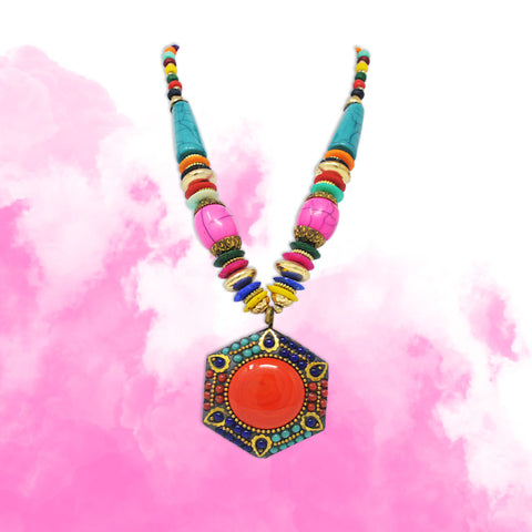 Colourfull-Bead-Necklace-Saaj