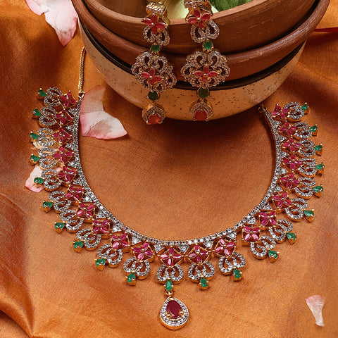 colorstone-necklace-Saaj