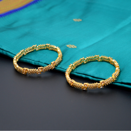 Yellow Stone Bangle Pair
