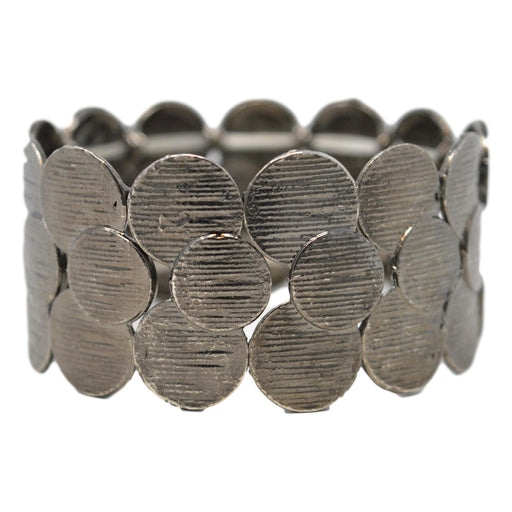 Oxidised Bracelet Front View