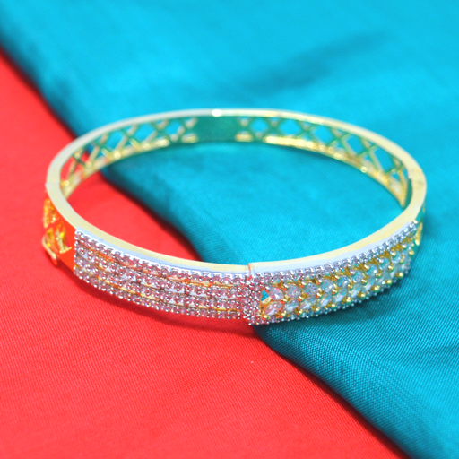 Gold American Diamond Bracelet