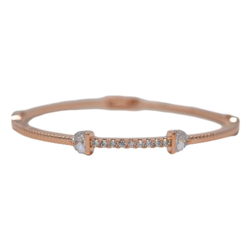 Rose Gold American Bracelet Front View