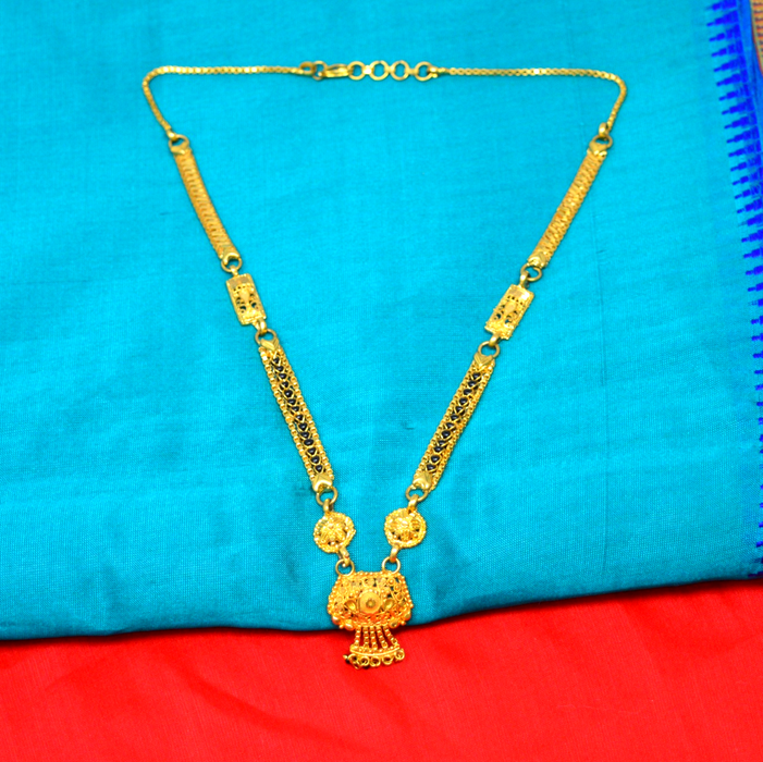 Gold Finish Patti Mangalsutra Color