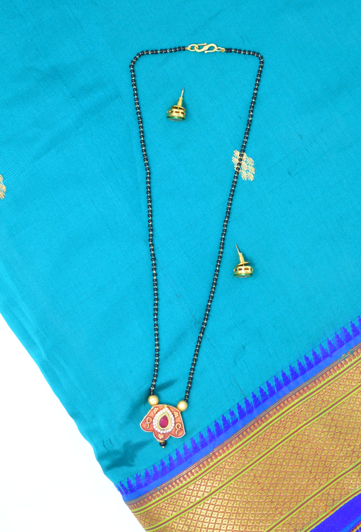 Red Stone Mangalsutra set