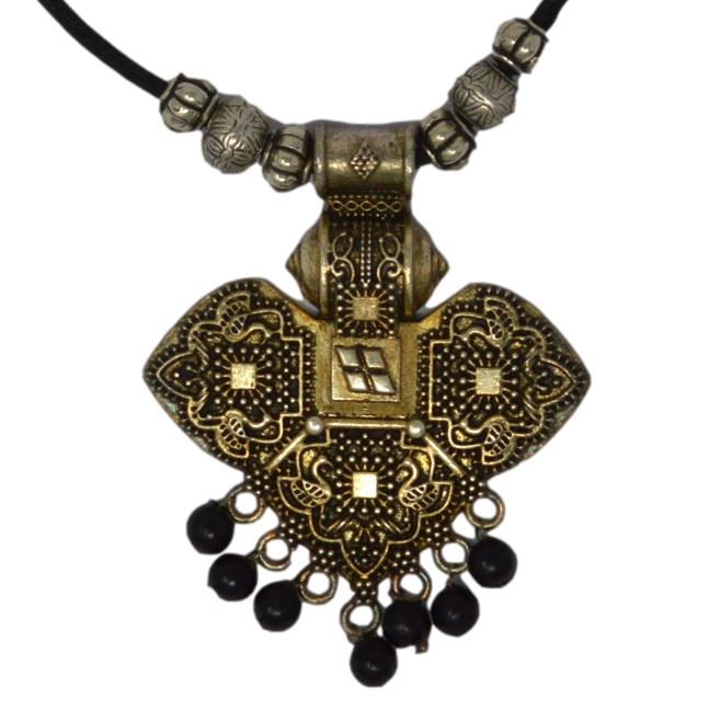 Oxidised Necklace