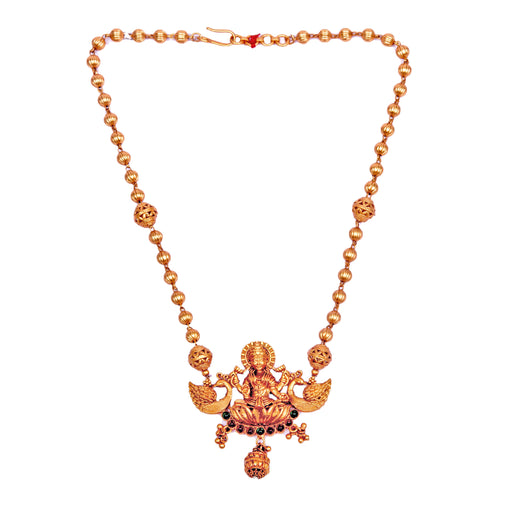 Laxmi Temple Necklace Set Front View