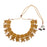 Laxmi Temple Necklace Front View Full Set