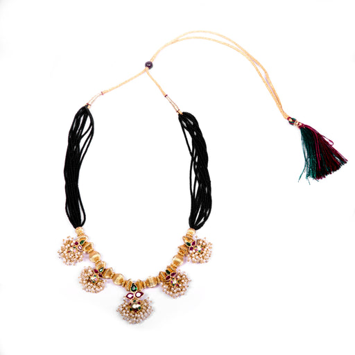 Mangalsutra Saaj Necklace Front View