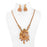 Laxmi Temple Necklace Set On Mannequin