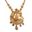 Laxmi Temple Necklace Pendant Closeup