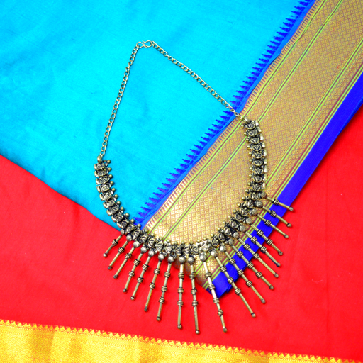 Golden Oxidised Necklace