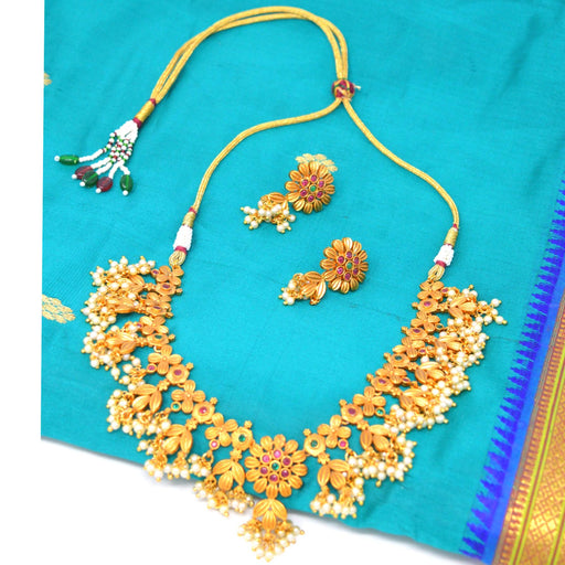 Moti Guchha Necklace