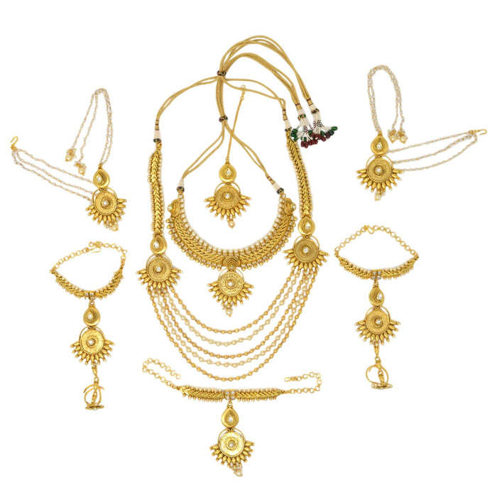 Dulhan Full Necklace Set