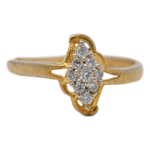 American Diamond Ring Front View