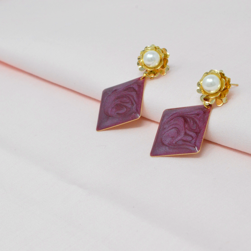 Golden Moti Earring  Color